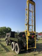 Drilling rig UGB -1 entirely on the basis of ZIL 131