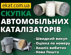 Скупка каталізаторів та сажовіх фільтрів з авто